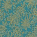 Portobello Wallpaper Bromelia 289649 By Rasch Textil For Brian Yates